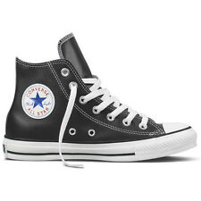 Converse Chuck Taylor All Stars Hi Leather Shoe Black Footwear Shoes All Sizes