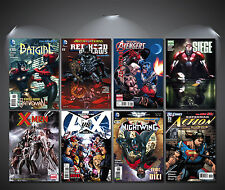 Vintage DC Comic Covers Poster Set - A4-A3 Sized Sets of 8