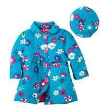 Penny M Girls 2 Piece Floral Coat and Hat Set Blue 2T 3T 4T NWT Jacket Peacoat
