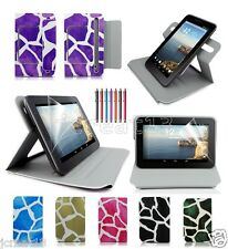 "Draft Leather Case Cover+Gift For 7"" HP Slate 7 Plus/HP 7 Plus Tablet TY9"