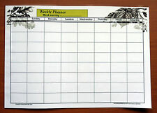 Full-size A3 Laminate Dry Wipe Marker Weekly Planner with 2014 - 2015 calendar