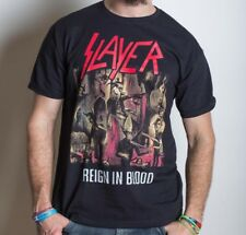 Slayer - Reign In Blood Shirt (T-SHIRT 100% OFFICIAL MERCH NEW)