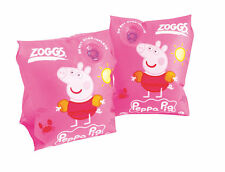 035294 SWIM CLEARANCE Zoggs Peppa Pig Swimming Inflatable Armbands - Pink
