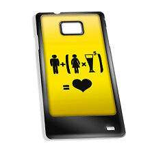 Cover for Galaxy S2 case #324 Funny Drunk Gift Idea Mens Present Beer Goggles