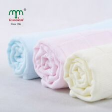2PC MMY Brand Cotton Unisex Hand Towel Gauze Washcloths Face Saliva Towel 10*10""