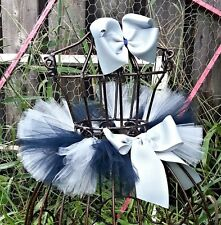 NFL Dallas Cowboys Tutu and Hair Bow Set for Pictures or Dress Up 2T-9Years
