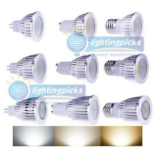 Ultra Bright 6W/9W/12W Dimmable LED COB Spot down light lamp bulb MR16/GU10/E27