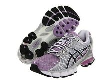 Womens ASICS GEL KINSEI 4 running shoes Lilac Black White NIB  T189N Very Comfy