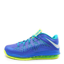 Nike Air Max Lebron X Low [579765-500] Basketball Sprite Blue/Volt-Turquoise
