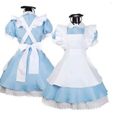 Alice In Wonderland Maid  Halloween Costume Fancy Dress Sexy Maid Outfit Cosplay