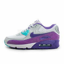 Nike WMNS Air Max 90 [325213-036] NSW Running Silver Wing/Court Purple
