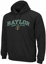 Baylor Bears NCAA Licensed Majestic Pullover Hoodie Black Big & Tall Sizes
