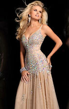 New Stunning Sequins Beaded Corset Evening/Formal/Ball gown/Party/Prom Dresses