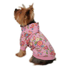 Zack & Zoey Spring Garden Dog Pullovers Summer Puppy Fun Trendy Hoodie Shirt