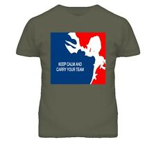 KEEP CALM AND CARRY YOUR TEAM LEAGUE OF LEGENDS GAMING T Shirt