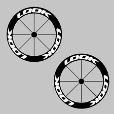 LOOK Carbon Bike/Cycling/Cycle/Push Bike Wheel Decal Sticker Kit