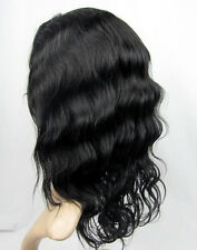 Lace Front Wig Full Wigs/ Glueless Cap 100% Remy Indian Human Hair Bodywave Weav