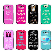 Hot Pink Keep Calm And Just Dance Cats Hard Case For Samsung Galaxy s3 s4 s5