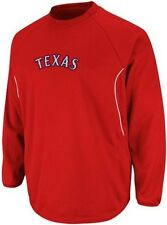Texas Rangers Majestic Authentic Therma Base Tech Fleece Red Big Sizes 3XL & 4XL