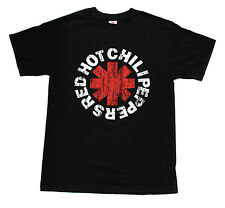 Red Hot Chili Peppers Rock Band Embroidered Graphic T-Shirts