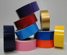 "4"" x 150 ft Roll Vinyl Pinstriping Vinyl Striping Tape 25 Colors Available!"