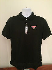 NEW UNIVERSITY OF TEXAS LONGHORNS DRI FIT BLACK POLO GOLF SHIRT *ALL SIZES*