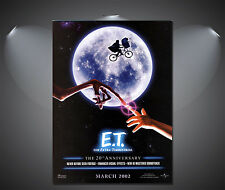 E.T.  ET Vintage Movie Poster - A1, A2, A3, A4 Sizes