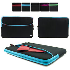 "13.3"" Washable Neoprene Protective Carrying Sleeve Case fits Dell Laptop PC"