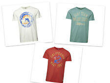 Jack and Jones Vintage T-Shirt Mens 3 Styles and Slim Fit Wave Rider