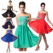 ON Sale Charming Strapless Evening Prom Dress Bridesmaid Homecoming Dresses Gown