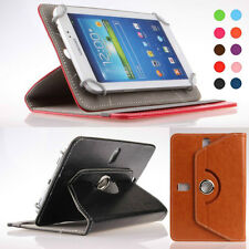 US stock Rotating Folio Case Leather Cover Stand for 7 inch HP 7 Plus Tablet PC