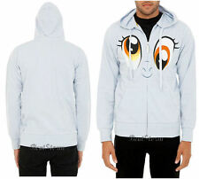 My Little Pony Derpy Hooves Ditzy Doo Bronies Brony Hoodie Hoody Sweatshirt Grey