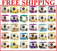 Nescafe Dolce Gusto Coffee - 28 Different Flavors - K-Cups Capsules Pods T-Disc
