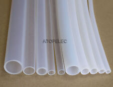PTFE Teflon Tubing Pipe ID_3MM OD_4MM White/Clear