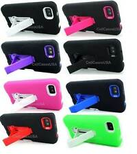 For Blackberry Z10 Colored Heavy Duty Double Layer Hybrid Stand Cover Case