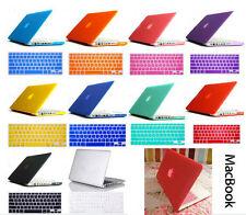 "13"" Matt Rubberized Hard Case Cover + Keyboard Skin Cover For Apple Mac Book Air"