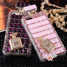 Crystal Bling Diamond Perfume Bottles Case For iPhone4/5S 6 Samsung S4 S5 Note 3