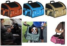 Pet Gear 3-in-1 Pet Bike Basket Carrier Car Seat Dog Cat Travel