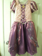 Disney Parks Deluxe Tangled Princess Rapunzel Costume Dress Ball Gown - NEW