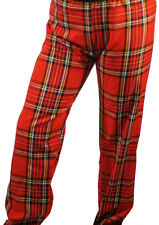 1960'S-1970'S Glam Rock-David Bowie-Bay City Rollers-Scottish TARTAN TROUSERS