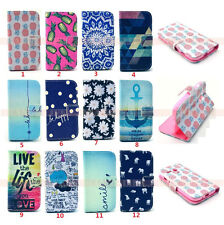 For Motorola Moto G Painted PU Leather Case Wallet Holder Flip Stand Pouch Cover