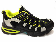 Mens Non Metal Safety Toe Cap Water Resistant Antislip Boots Trainers Shoe Size