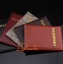 New Passport Holder Protector Cover Wallet PU Leather Cover AD140