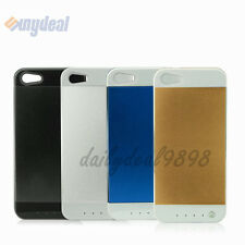 3500mAH External Rechargeable Battery Charger Case Cover For iPhone 5/5S 4Color