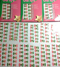 Nail Art Sticker gel tabs Mexican flag Manicure Stickers New Kleancolor STICKERS