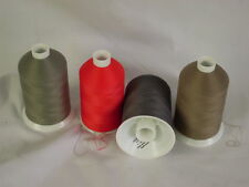 Thread Bulked Polyester 80s 7000m one cone 4 colour