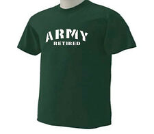 Army Retired Military Retirement Occupation T-Shirt