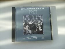 Various Artists - 25 Years of Rock 'N' Roll - 1981  (1994 CD)