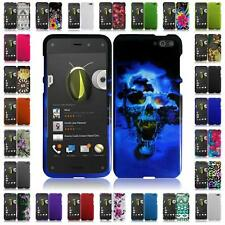 For AMAZON FIRE PHONE Hard Snap on Two Piece Cover Case + LCD Screen Guard