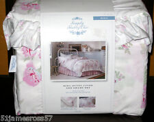 king size ESSEX ROSE DUVET COVER SET - simply shabby chic